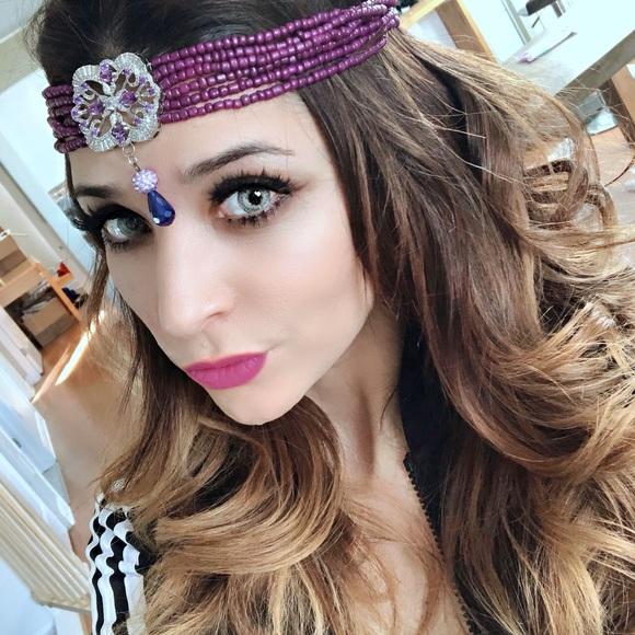 Forehead Algerian jewelry